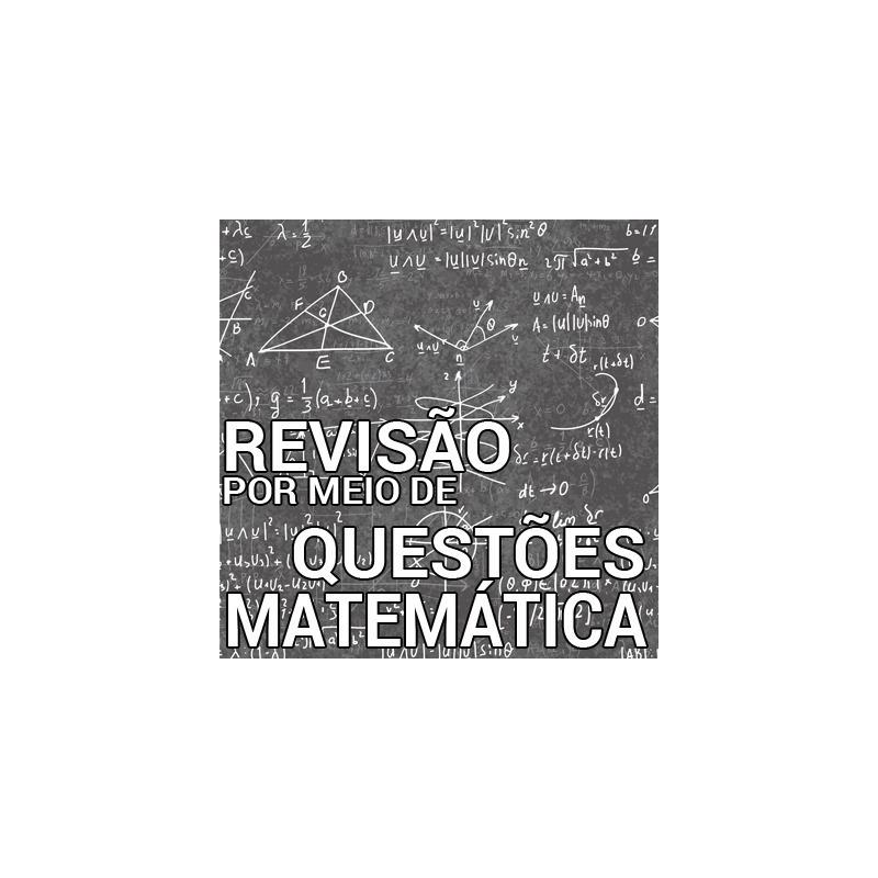 Matemática - VUNESP - Questões Resolvidas