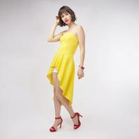 Blusa Amarilla Larga 019888