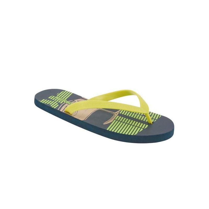Sandalia verde sintética 018501