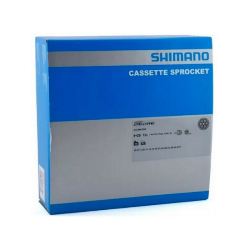 CASSETE SHIMANO DEORE M6100 CS-M6100 10/51D - 12V - MICRO SPLINE