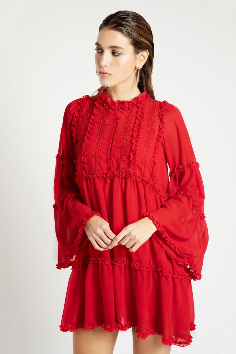 Vestido Charlotte Rojo