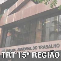 Curso Online Analista Judiciário AJ TRT 15 Direito Processual do Trabalho 2018