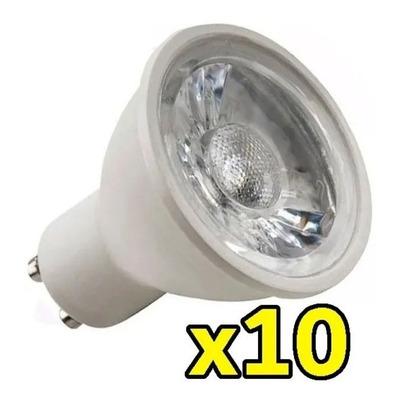 Pack X 10 Lampara Dicro Led 7w Alta Potencia Eficiencia