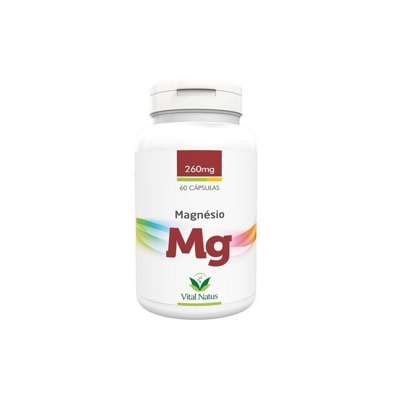 Magnesio (Mg) - 60 capsulas de 260mg - Vital Natus