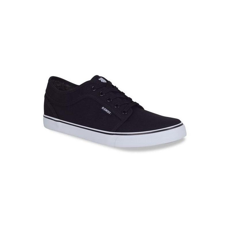 Sneakers K-swiss blanco con negro K0F025