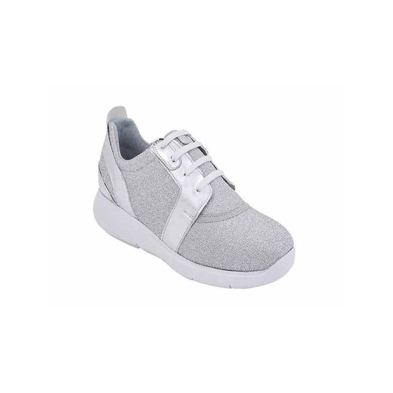 Sneakers grises multicolor 017468