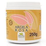 Argila Rosa em po - 250g - Dermaclean