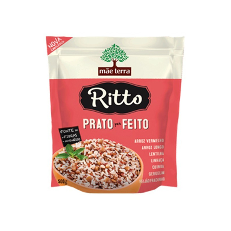 Ritto Prato Feito - 500g Mae Terra