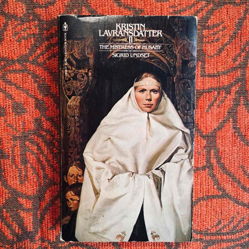 Sigrid Undset. KRISTIN LAVRANSDATTER II.