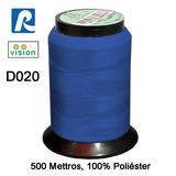 Linha Vision Azul 100% Poliéster, 300m