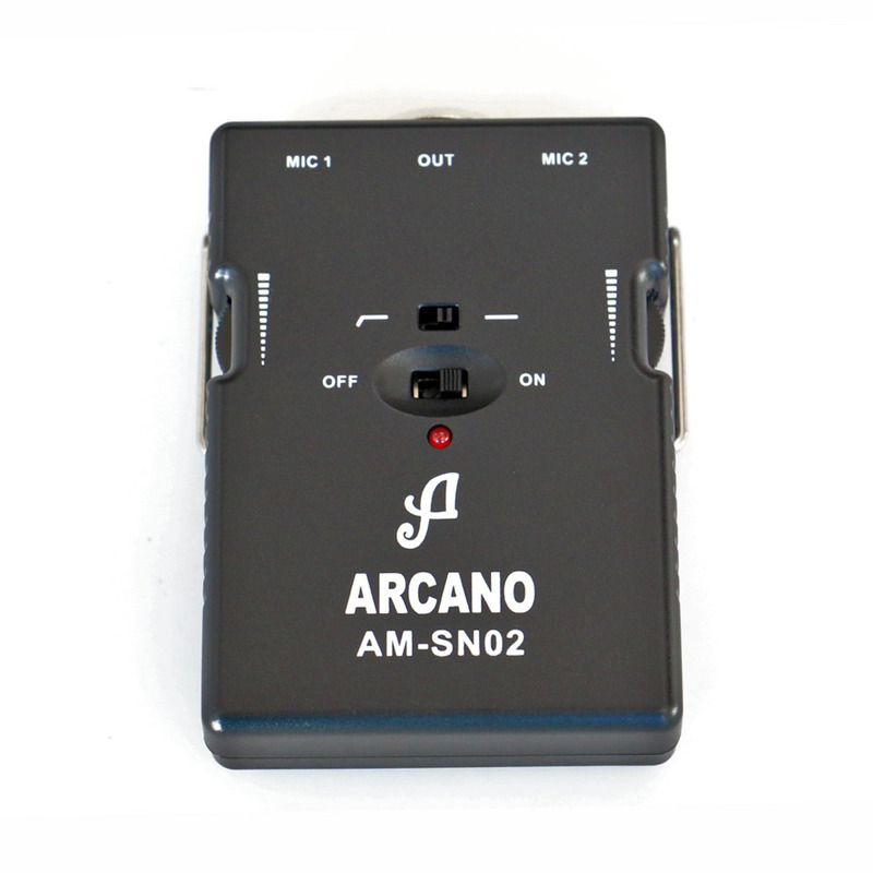 MICROFONE CONDESANDOR ARCANO COM FIO AM-SN02 (2000)