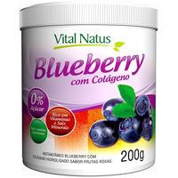 Blueberry com Colageno (Frutas Roxas) 200g - Vital Natus