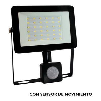 Reflector Led 30w Ip65 Con Sensor De Movimiento Luz Desing
