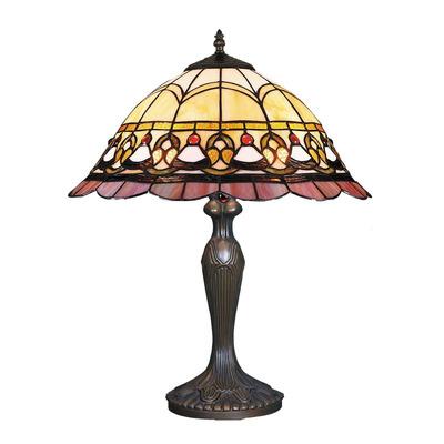 Iluminación Lampara De Mesa Tiffany Donatella 228