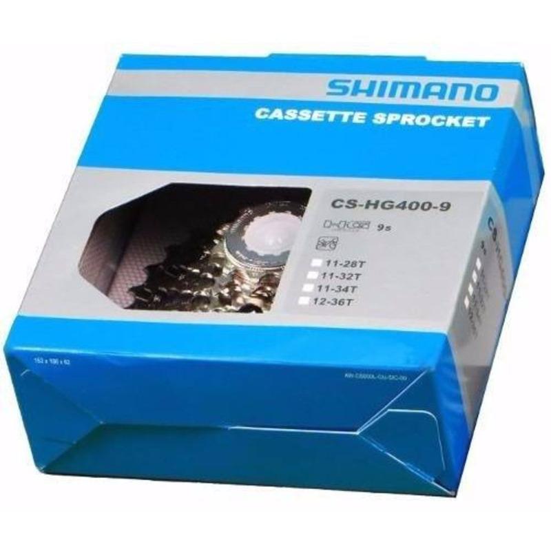 CASSETE SHIMANO ALIVIO CS-HG400 12/36D - 9V