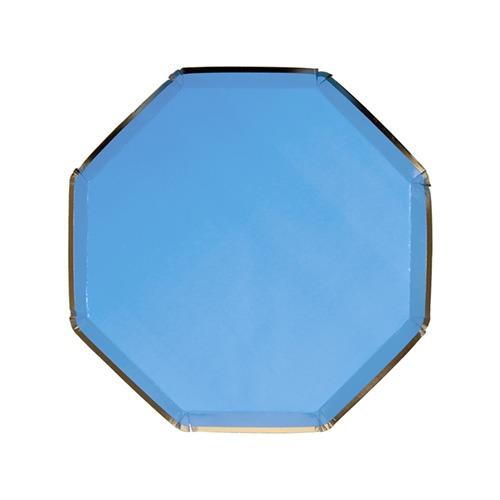 Platos azul Francia