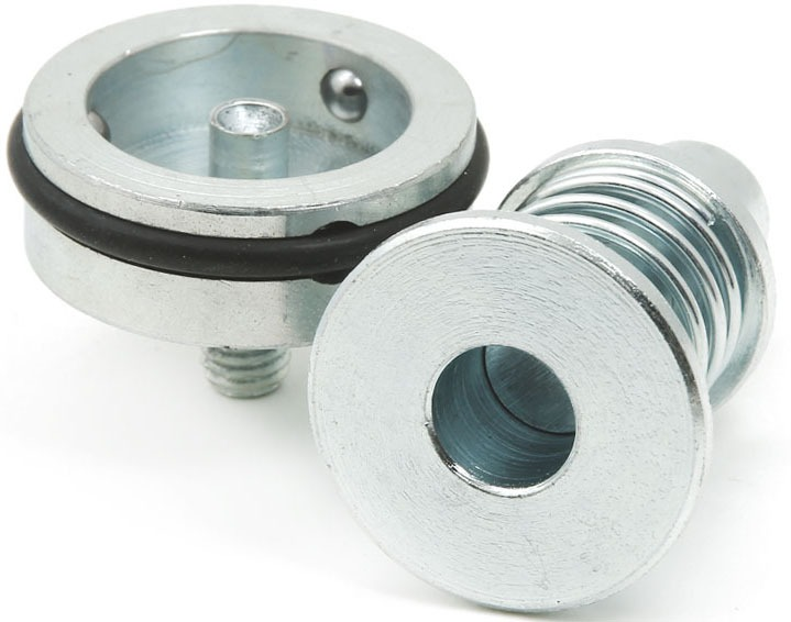 Matriz de Pregar Botão Flexível c/ Furo 17mm