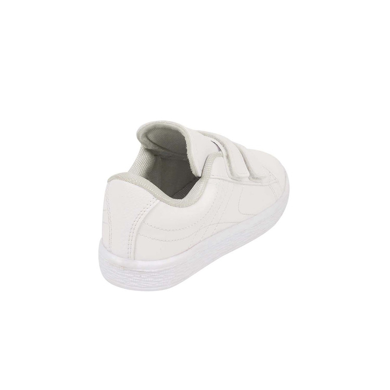 Sneakers blancos con correas 018619