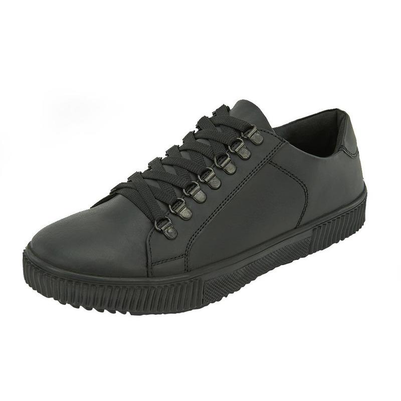 Sneakers Negros Lisos 017606