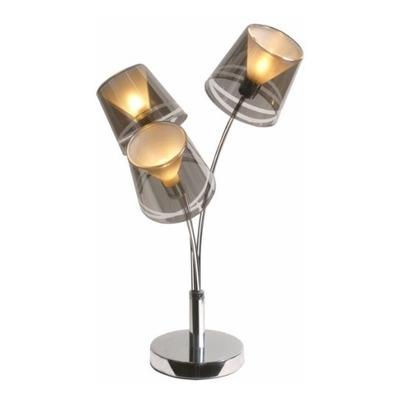 Lampara De Mesa Velador Eco 3 Luces Du2100 3 -  Luz Desing