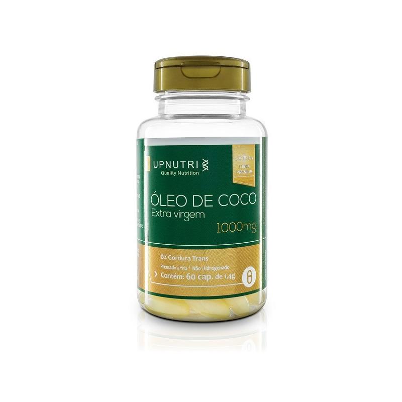 Oleo de Coco Extra Virgem - 60 Caps. - 1000mg - UpNutri