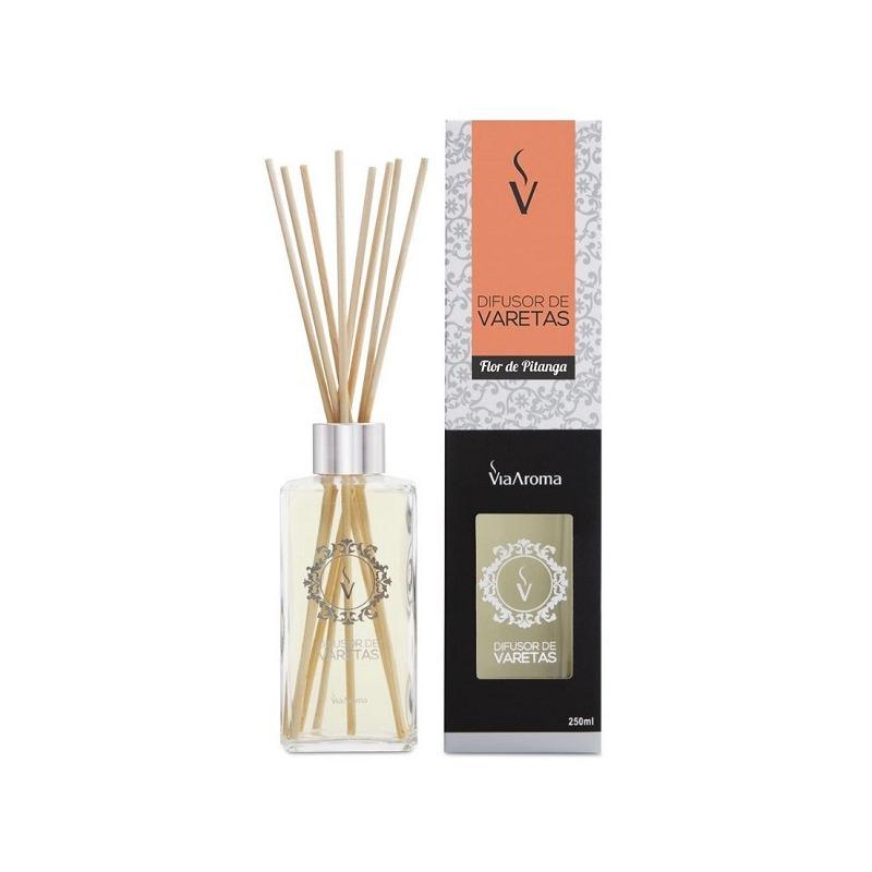 Aromatizador de Stick Flor de Pitanga - 250ml - Via Aroma