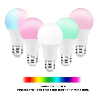 Lámpara Led Smart Life E27 10w Wifi Rgb Celular App Tuya