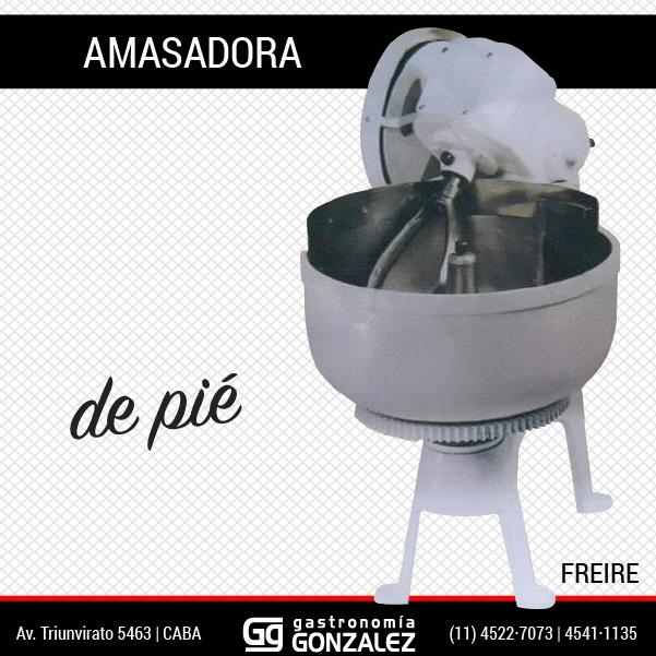 Amasadora de pie 30 K CM Freire
