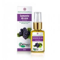 Oleo Vegetal Organico de Semente de Uva 30ml - Phytoterapica