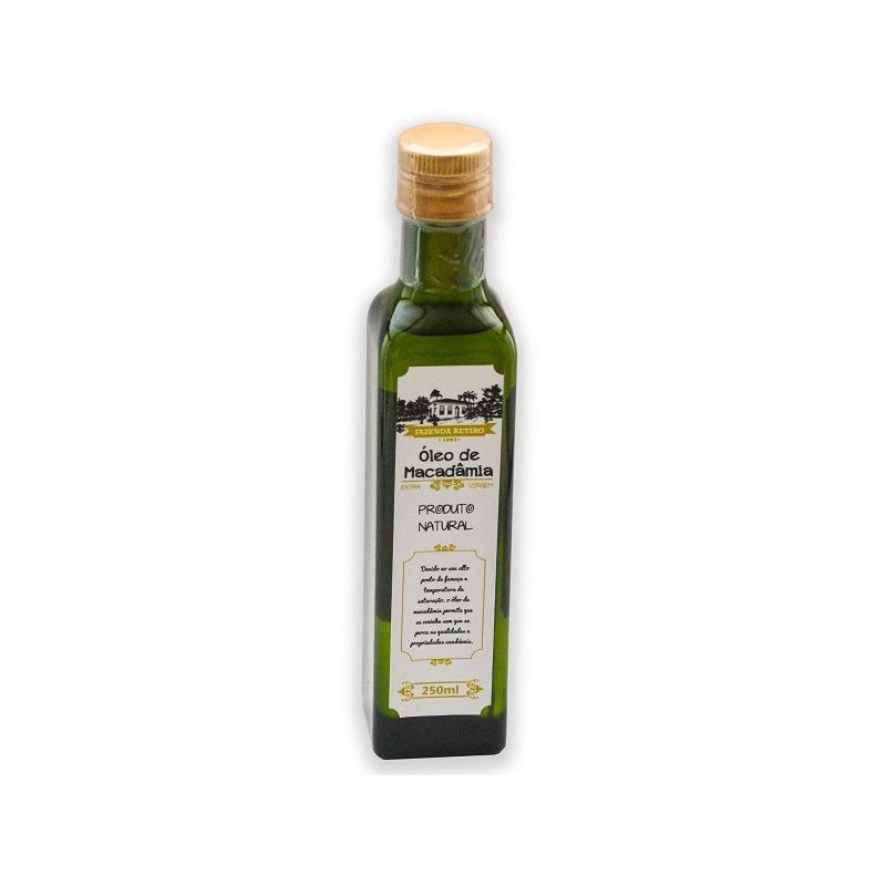 Oleo de Macadamia 250ml - Fazenda Retiro