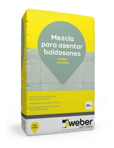 Pegamento Weber Col Veredas 30 Kg Para Mosaico O Baldosones