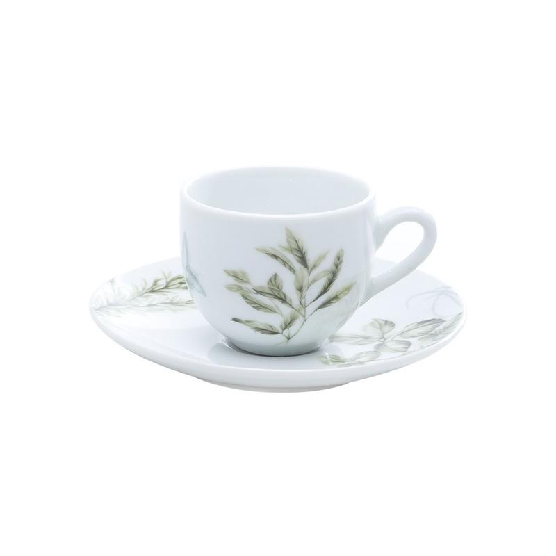 Jogo de Jantar 42 Pecas Porcelana  Herbes - Wolff 31017243