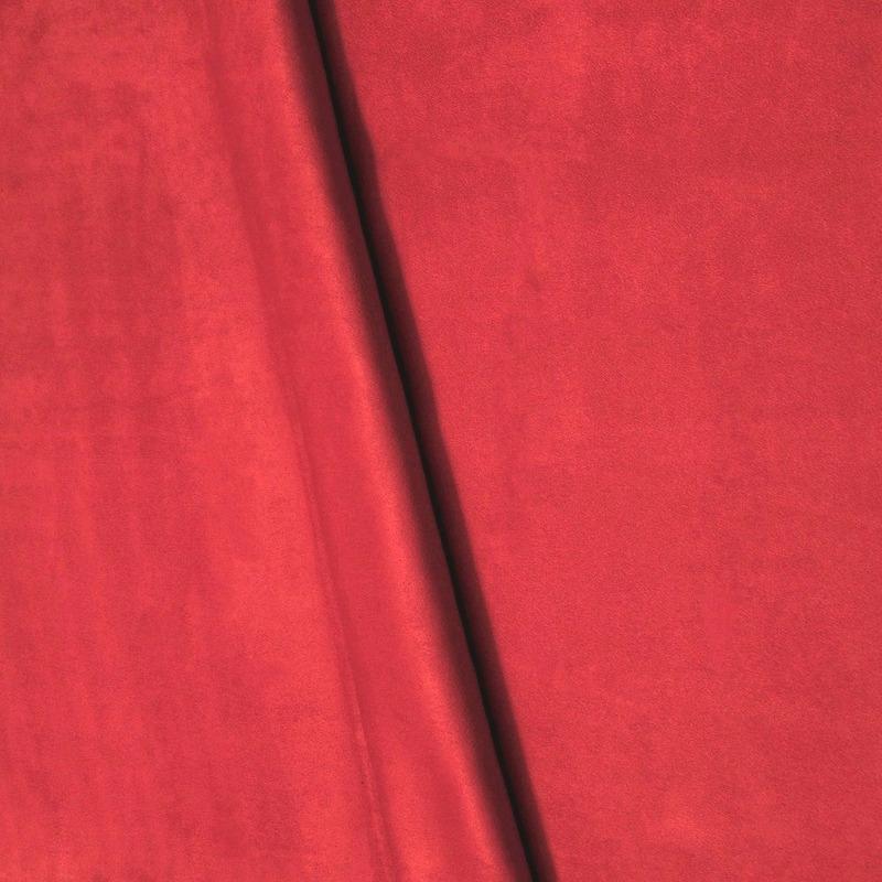 Suede lisa vermelho Coleção New York IV