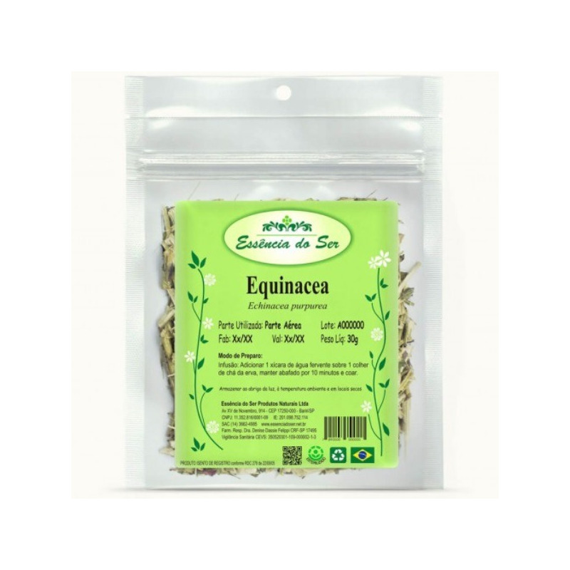 Cha de Equinacea - 30g - Essencia do Ser