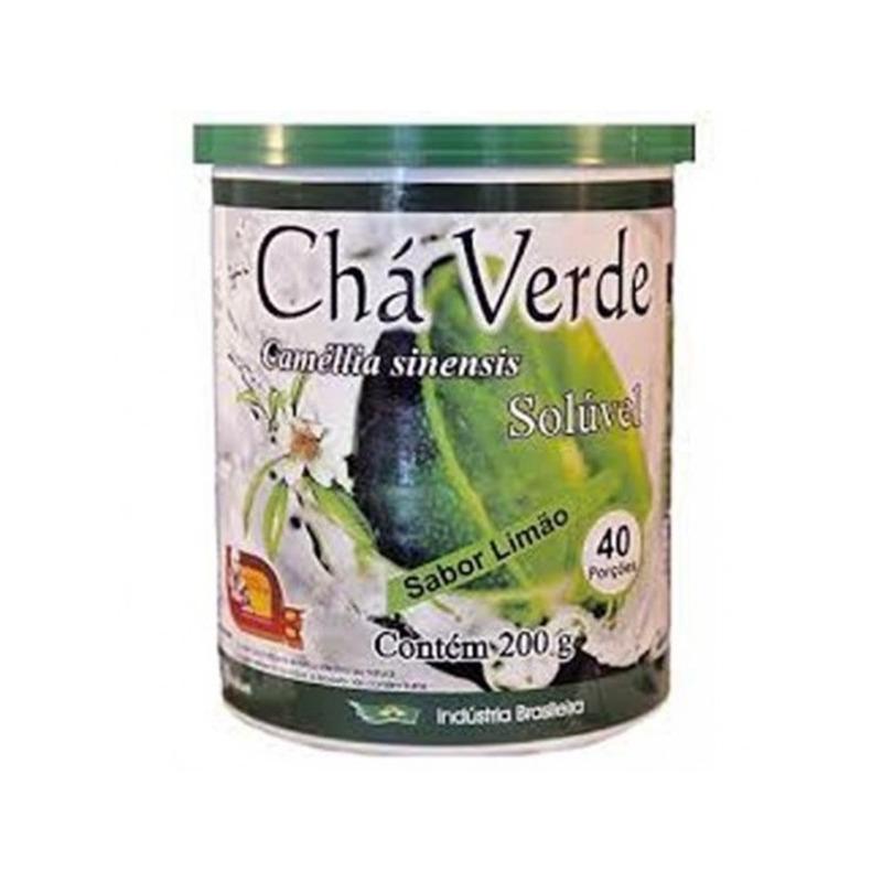 Cha Verde Sabor Limao 200g - Mosteiro Devakan