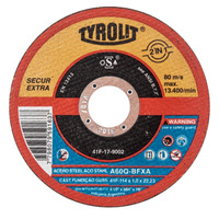 DISCO DE CORTE 115X1.0X22.2 A60Q-BFXA