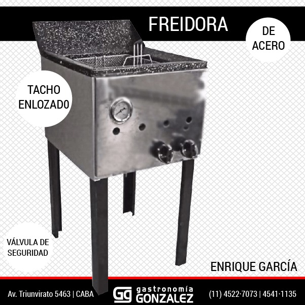 Freidora Gastronómica 33 Lt.
