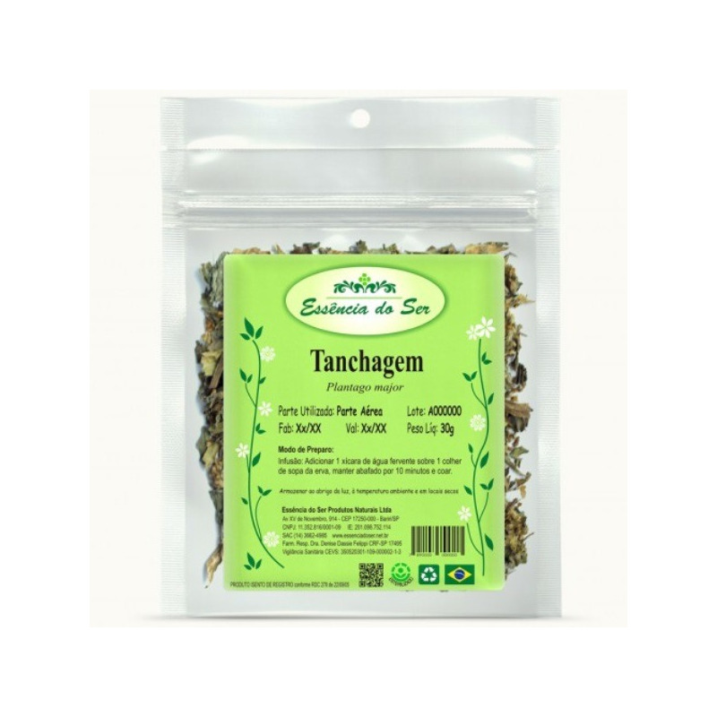 Cha de Tanchagem - Kit 2 x 30g - Essencia do Ser