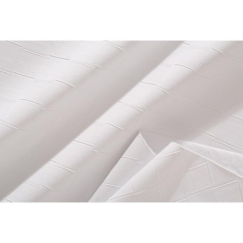 Tecido couro sintético fit tress branco
