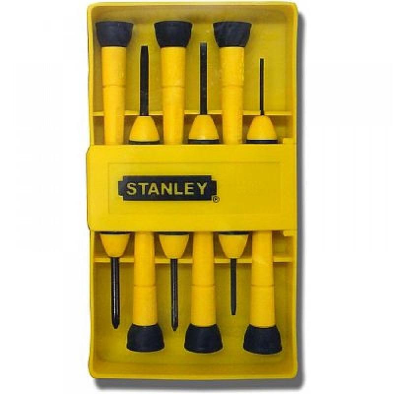 Jogo de Chave Fenda/Phillips de Precisão 6 Peças - 66-052 - Stanley