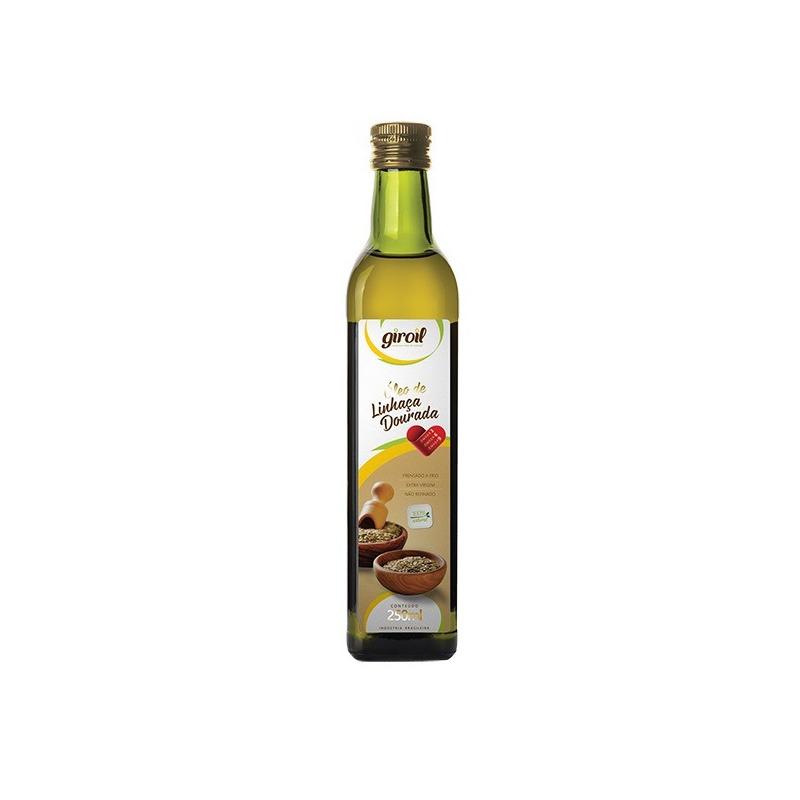 Oleo de Linhaca Dourada Extra Virgem 250ml - Giroil