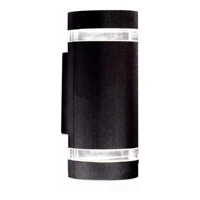 Aplique Difusor Bidireccional Curvo Ext Aluminio Apto Led