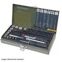 Kit Magnético com Soquetes e Bits 38 Peças - 23070 - Proxxon