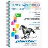 BLOCK PARA DIBUJO PLANTEC 150grs - A4/40hj