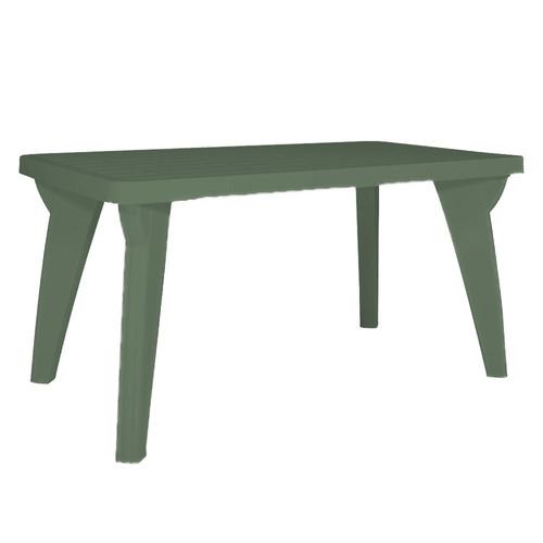 Mesa Torino, Reforzada, Patas Atornillables,verde, Oferta