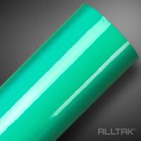 Adesivo brilho ultra para envelopamento automotivo verde água turquoise green larg.1,38m