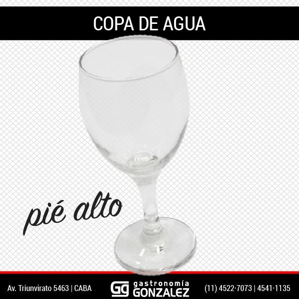 Copa Vidrio Alta