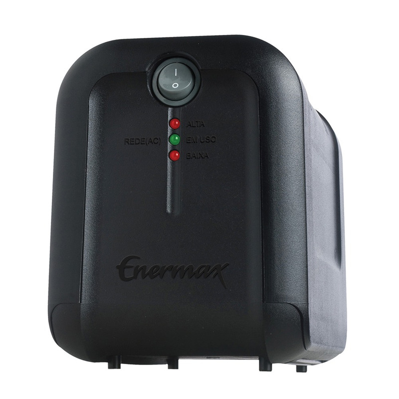 ESTABILIZADOR 600VA BIVOLT MANUAL/115V ENERMAX EXS II POWER 21.06.068P