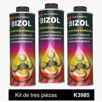 Aditivo para aceite Bizol  Estabilizador de Viscosidad Kit 3p de 250ml