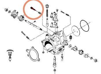 Agulha Lenta Carburador Cv Keihin Harley 88 A 06 - 82367